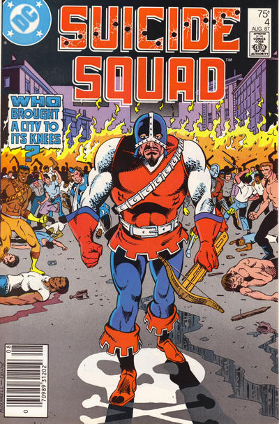 Cover for Suicide Squad (DC, 1987 series) #4 [Direct Sales]