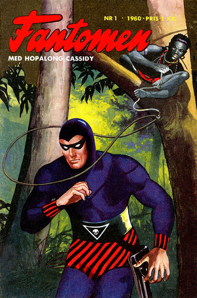 Cover for Fantomen (Semic, 1963 series) #1/1960
