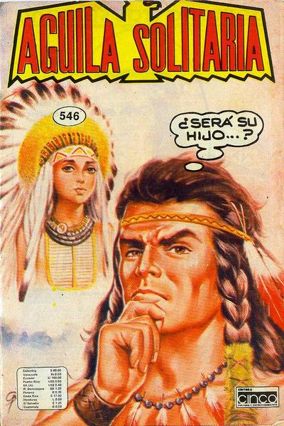 Cover for Aguila Solitaria (Editora Cinco, 1976 ? series) #546