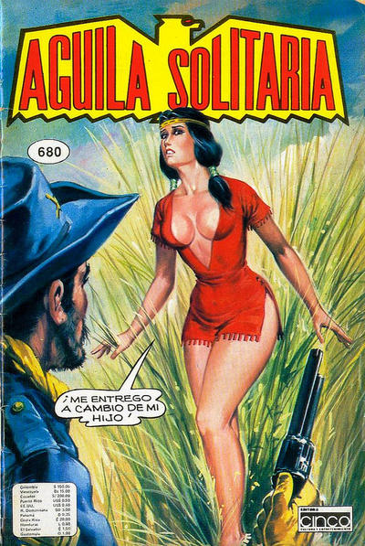 Cover for Aguila Solitaria (Editora Cinco, 1976 ? series) #680