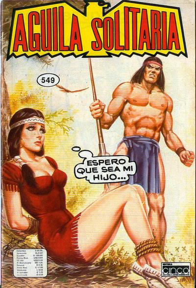 Cover for Aguila Solitaria (Editora Cinco, 1976 ? series) #549