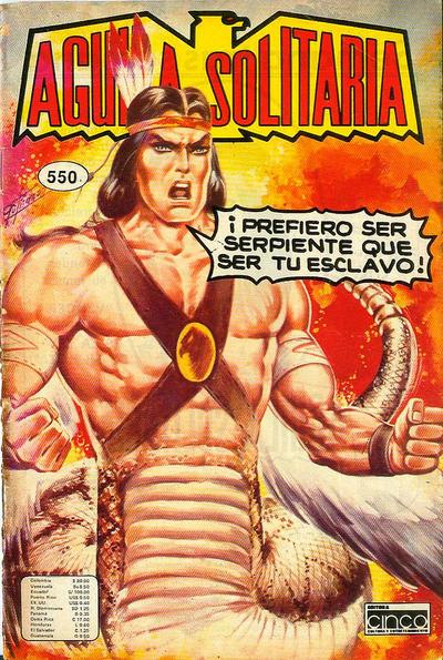 Cover for Aguila Solitaria (Editora Cinco, 1976 ? series) #550