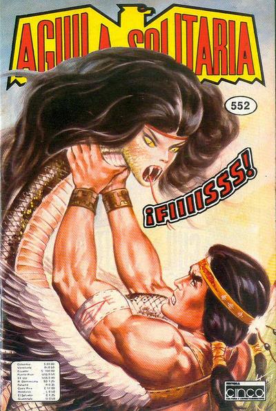 Cover for Aguila Solitaria (Editora Cinco, 1976 ? series) #552