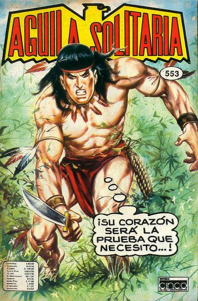 Cover for Aguila Solitaria (Editora Cinco, 1976 ? series) #553