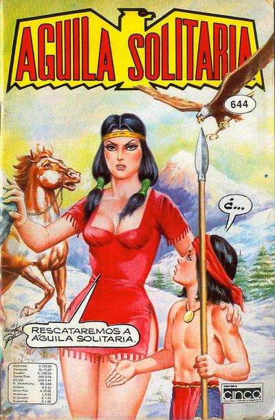 Cover for Aguila Solitaria (Editora Cinco, 1976 ? series) #644