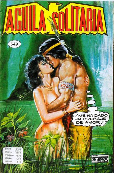 Cover for Aguila Solitaria (Editora Cinco, 1976 ? series) #649