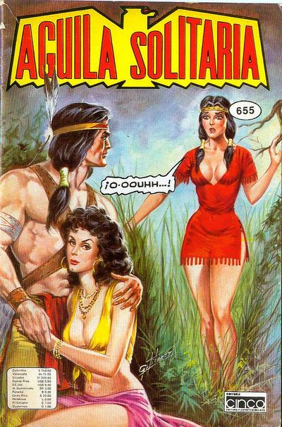 Cover for Aguila Solitaria (Editora Cinco, 1976 ? series) #655