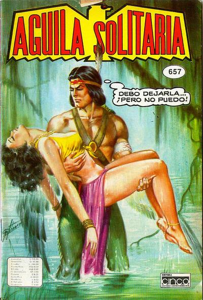 Cover for Aguila Solitaria (Editora Cinco, 1976 ? series) #657