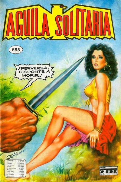 Cover for Aguila Solitaria (Editora Cinco, 1976 ? series) #658