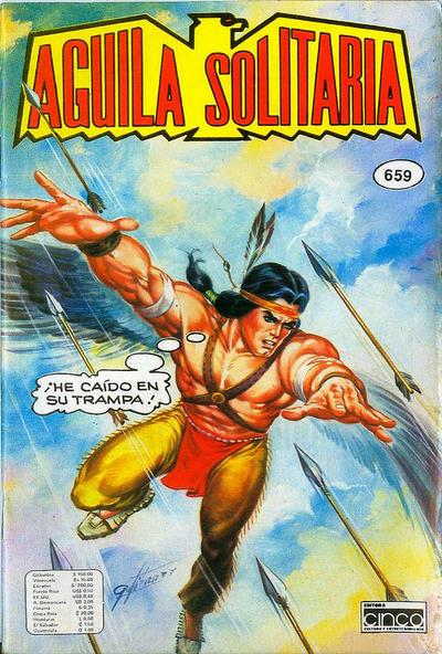 Cover for Aguila Solitaria (Editora Cinco, 1976 ? series) #659