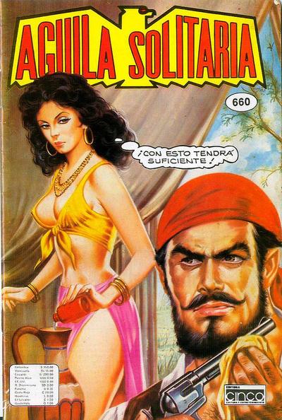 Cover for Aguila Solitaria (Editora Cinco, 1976 ? series) #660