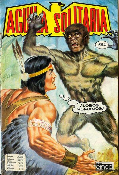 Cover for Aguila Solitaria (Editora Cinco, 1976 ? series) #664