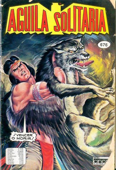 Cover for Aguila Solitaria (Editora Cinco, 1976 ? series) #676