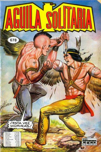 Cover for Aguila Solitaria (Editora Cinco, 1976 ? series) #678