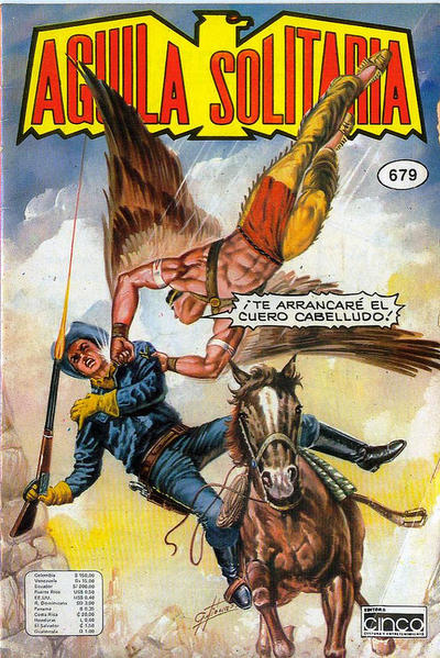 Cover for Aguila Solitaria (Editora Cinco, 1976 ? series) #679