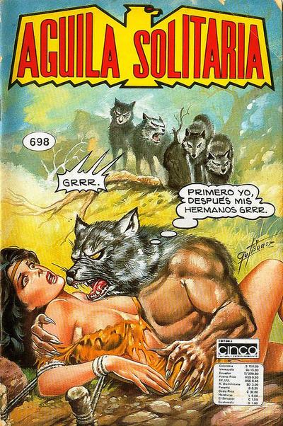 Cover for Aguila Solitaria (Editora Cinco, 1976 ? series) #698