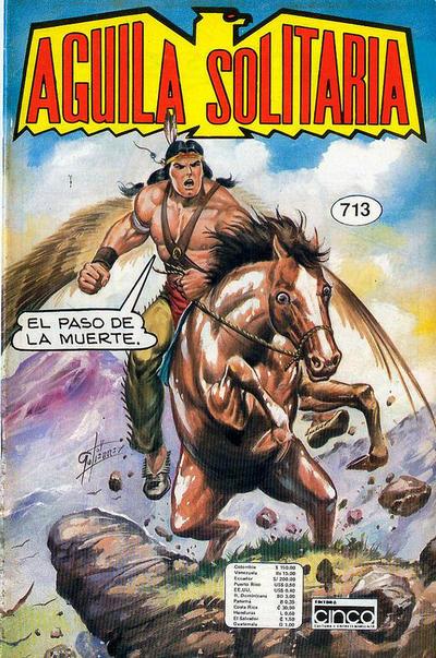 Cover for Aguila Solitaria (Editora Cinco, 1976 ? series) #713