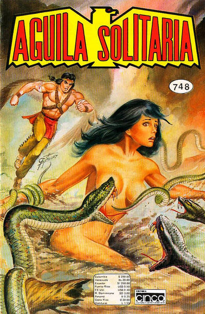 Cover for Aguila Solitaria (Editora Cinco, 1976 ? series) #748