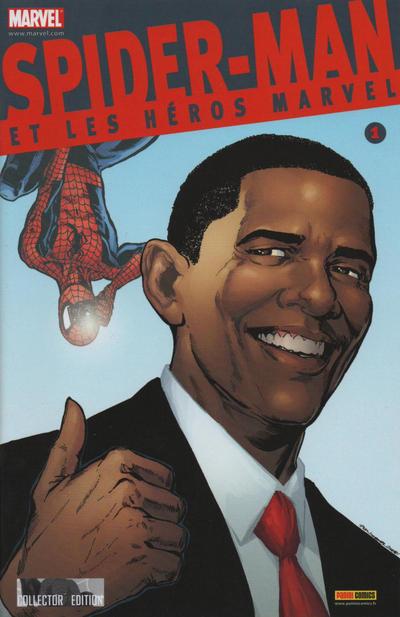 Cover for Spider-Man et les Héros Marvel (Panini France, 2009 series) #1