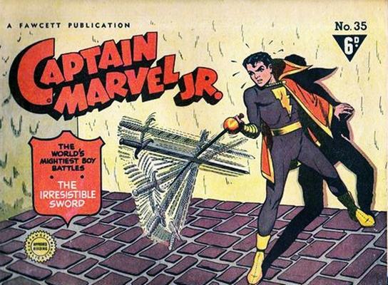 Cover for Captain Marvel Jr. (Cleland, 1947 series) #35
