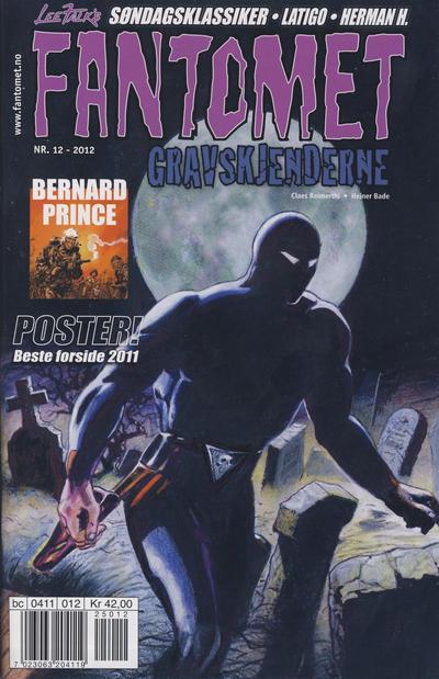 Cover for Fantomet (Hjemmet / Egmont, 1998 series) #12/2012