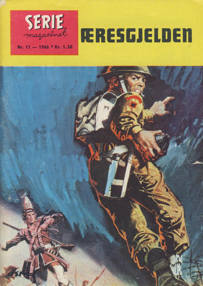 Cover for Seriemagasinet (Serieforlaget / Se-Bladene / Stabenfeldt, 1951 series) #11/1966