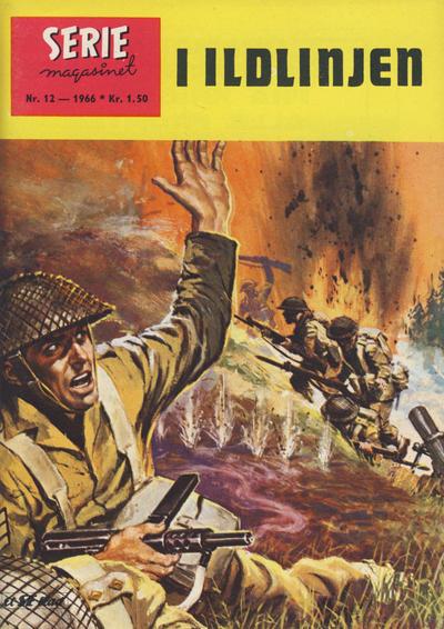 Cover for Seriemagasinet (Serieforlaget / Se-Bladene / Stabenfeldt, 1951 series) #12/1966