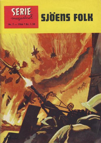Cover for Seriemagasinet (Serieforlaget / Se-Bladene / Stabenfeldt, 1951 series) #7/1966