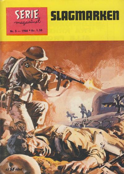 Cover for Seriemagasinet (Serieforlaget / Se-Bladene / Stabenfeldt, 1951 series) #5/1966
