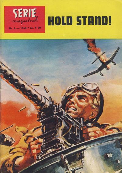 Cover for Seriemagasinet (Serieforlaget / Se-Bladene / Stabenfeldt, 1951 series) #8/1966