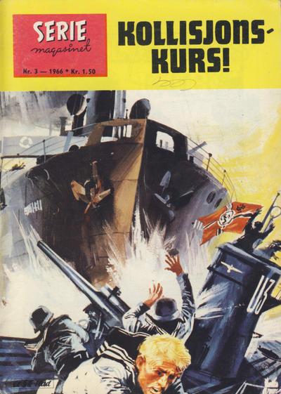 Cover for Seriemagasinet (Serieforlaget / Se-Bladene / Stabenfeldt, 1951 series) #3/1966