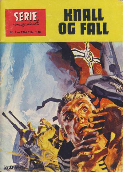 Cover for Seriemagasinet (Serieforlaget / Se-Bladene / Stabenfeldt, 1951 series) #1/1966