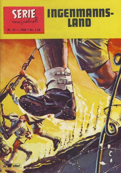 Cover for Seriemagasinet (Serieforlaget / Se-Bladene / Stabenfeldt, 1951 series) #12/1965