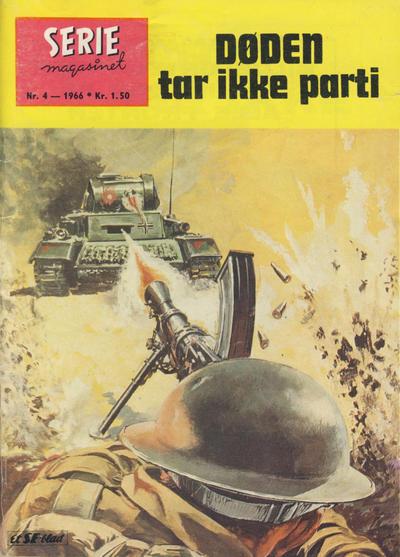 Cover for Seriemagasinet (Serieforlaget / Se-Bladene / Stabenfeldt, 1951 series) #4/1966