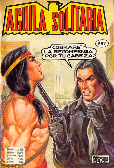 Cover for Aguila Solitaria (Editora Cinco, 1976 ? series) #587