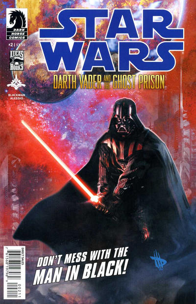 Cover for Star Wars: Darth Vader and the Ghost Prison (Dark Horse, 2012 series) #2