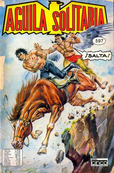 Cover for Aguila Solitaria (Editora Cinco, 1976 ? series) #597