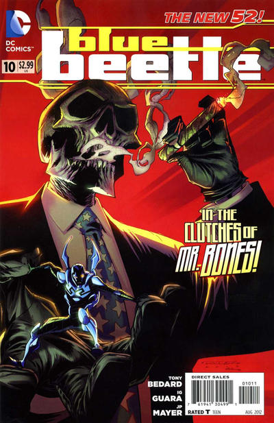 Cover for Blue Beetle (DC, 2011 series) #10