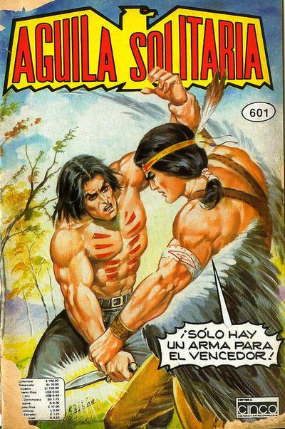 Cover for Aguila Solitaria (Editora Cinco, 1976 ? series) #601