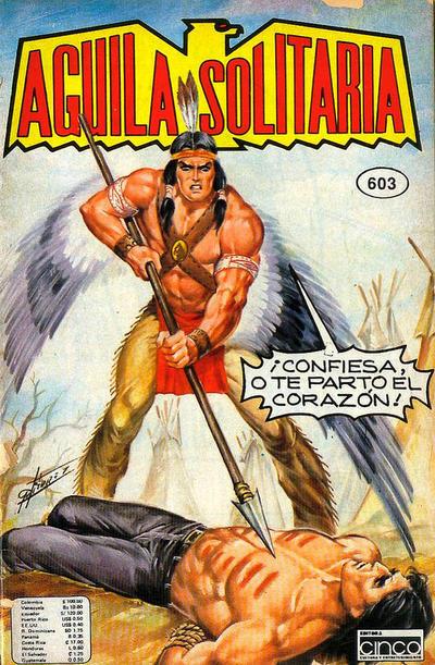 Cover for Aguila Solitaria (Editora Cinco, 1976 ? series) #603