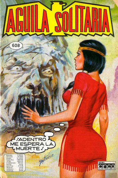 Cover for Aguila Solitaria (Editora Cinco, 1976 ? series) #608