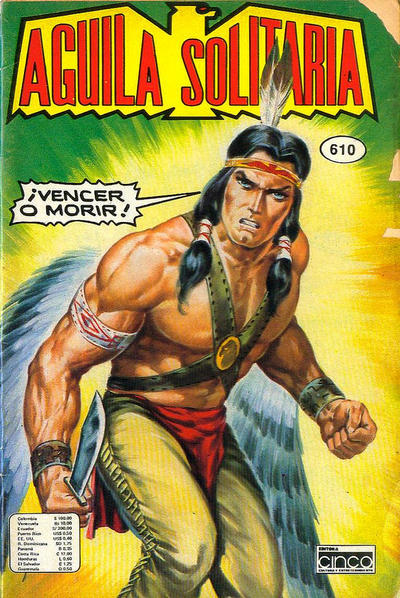 Cover for Aguila Solitaria (Editora Cinco, 1976 ? series) #610