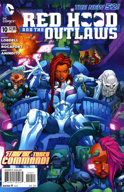Cover for Red Hood and the Outlaws (DC, 2011 series) #10