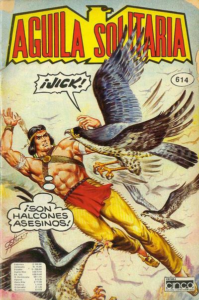 Cover for Aguila Solitaria (Editora Cinco, 1976 ? series) #614