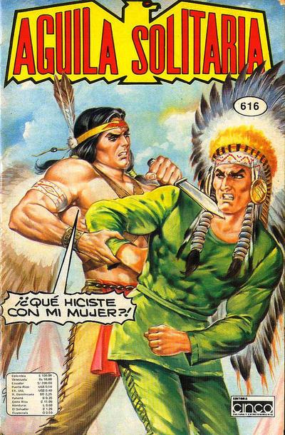 Cover for Aguila Solitaria (Editora Cinco, 1976 ? series) #616