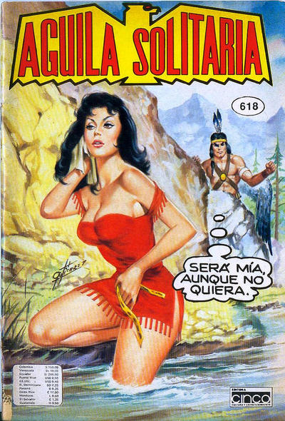 Cover for Aguila Solitaria (Editora Cinco, 1976 ? series) #618