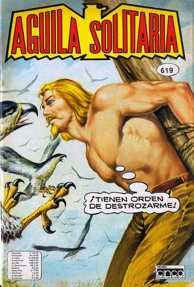 Cover for Aguila Solitaria (Editora Cinco, 1976 ? series) #619