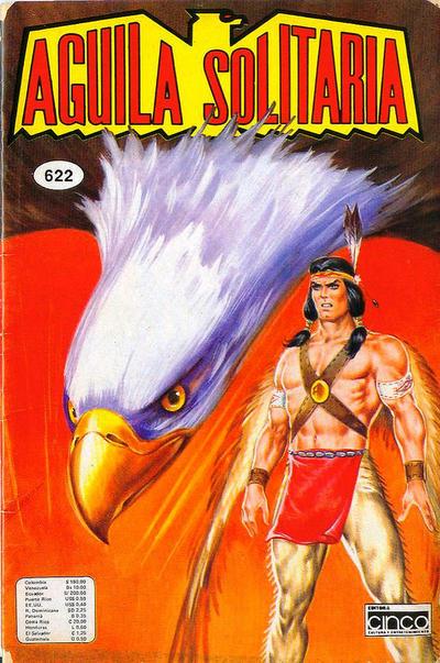 Cover for Aguila Solitaria (Editora Cinco, 1976 ? series) #622