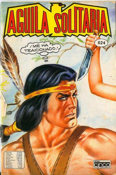 Cover for Aguila Solitaria (Editora Cinco, 1976 ? series) #624