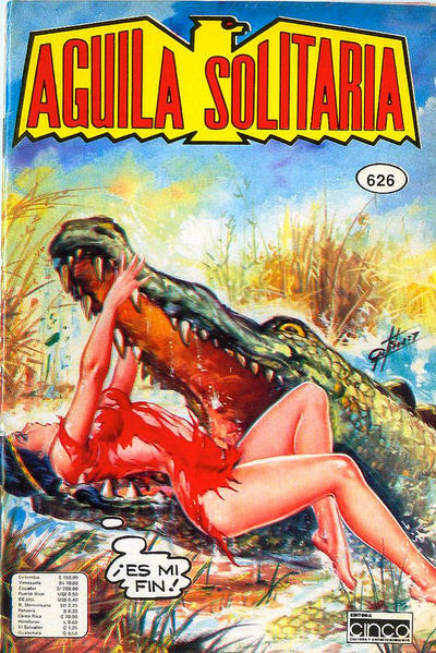 Cover for Aguila Solitaria (Editora Cinco, 1976 ? series) #626